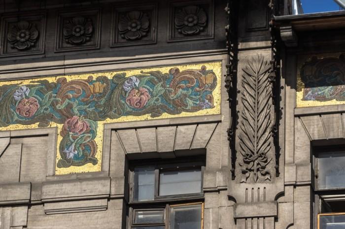 Фрагмент фасада. /Фото:wikiway.com