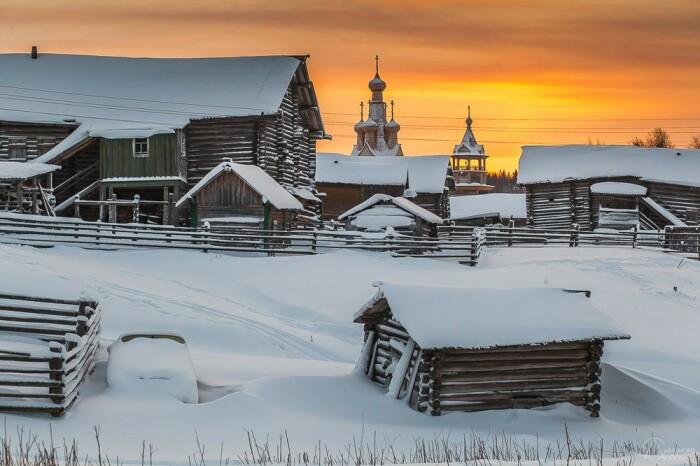 Одигитриевскую церковь видно в деревне с каждого двора. /Фото: Любовь Смирнова, love-smirnova.livejournal.com