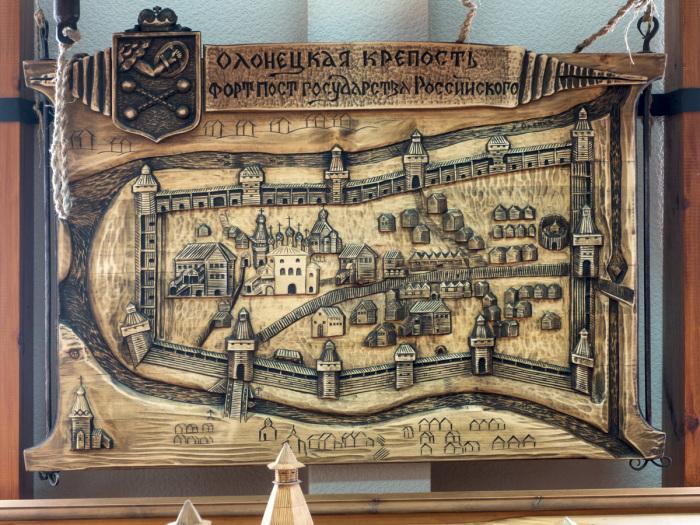 Город-крепость Олонец. /Фото:karelia.ru