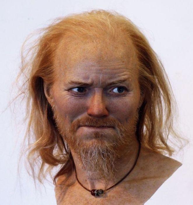 Мужчина эпохи викингов, живший в конце 10 века . /Фото с сайта О.Д. Нильссона