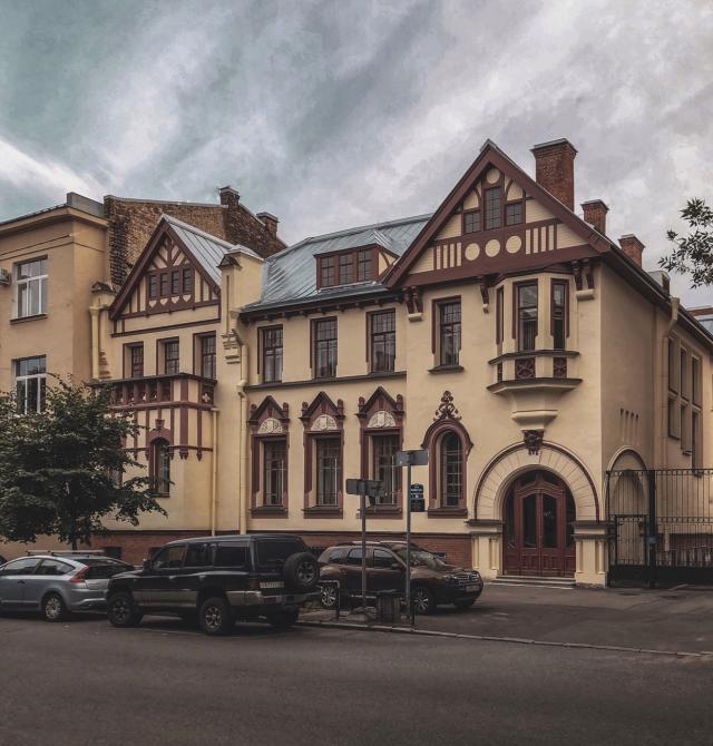 Дом Франка в XX веке выглядит так. .Фото:citywalls.ru