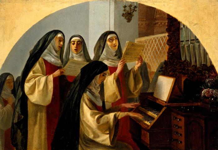 Причин ухода в монастырь у средневековых европейских женщин было достаточно, но далеко не все они были связаны с желанием приблизиться к Богу.