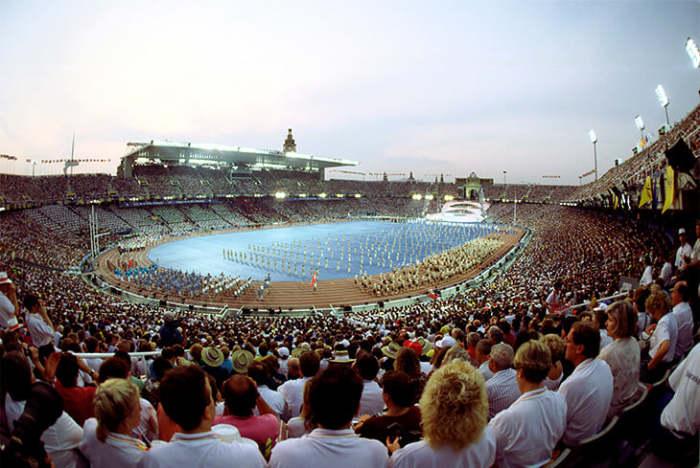 Олимпийские игры в Барселоне.