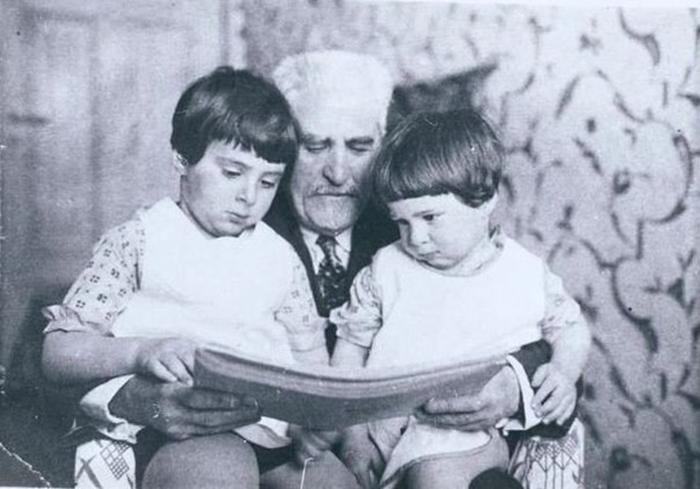 Одно из последних семейных фото Цемаха Шабада. /Фото:medicina24.lt