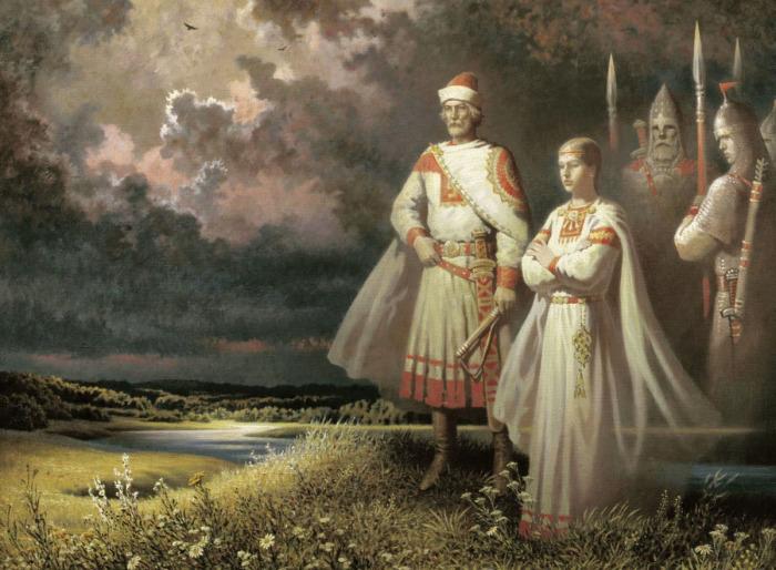Рост древнего славянина – примерно 175 см.