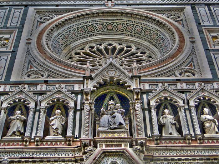 Фрагмент фасада собора. /Фото:studyblue.com