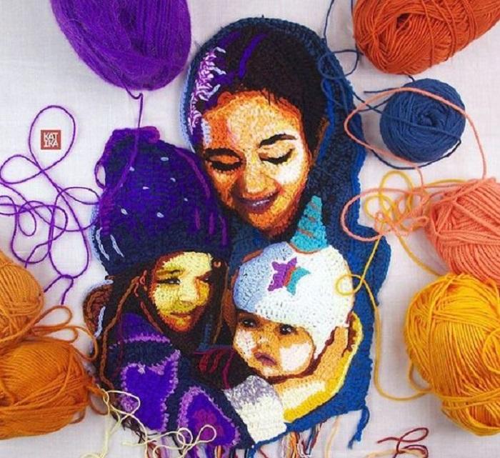Портрет трёх сестёр.
