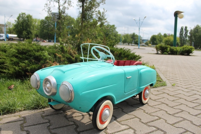 Один из отреставрированных автомобилей. /Фото:brestcity.com