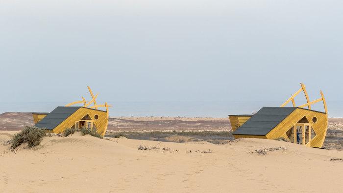 Домики в пустыне. /Фото:thecoolector.com