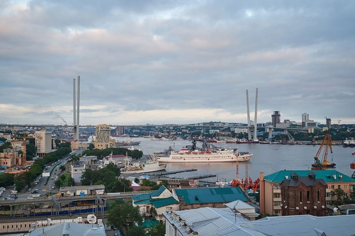 С крыши и с верхних этажей открывается шикарная панорама. /Фото:the-village.ru