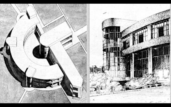Злободневный проект молодого советского архитектора. /Фото:ncca.ru
