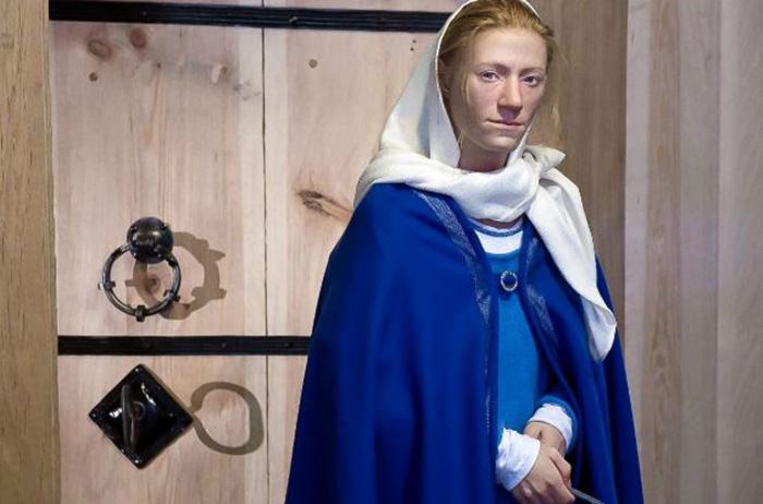 Женщина эпохи викингов. /Фото с сайта О.Д. Нильссона
