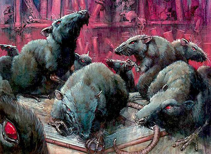 Легенды о гигантских крысах-мутантах до сих пор наводят ужас на любителей мистики. /Фото:kievvlast.com.ua