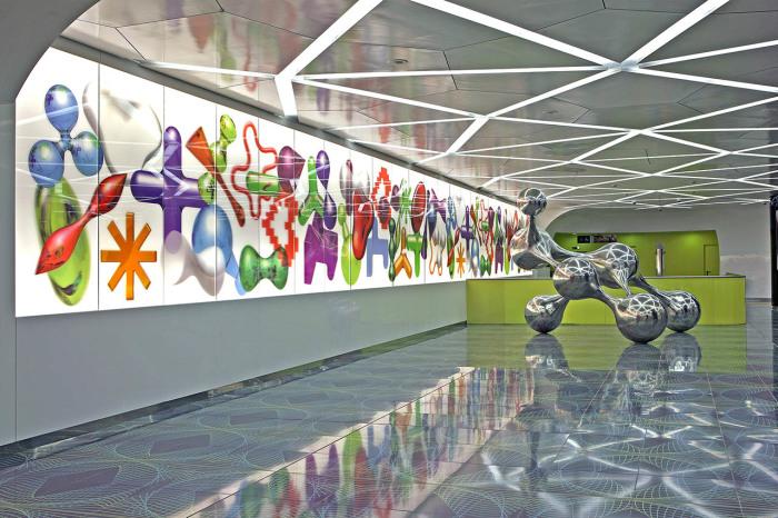 Одна из самых ярких в мире станций. / Фото:metropolitanadinapoli.it