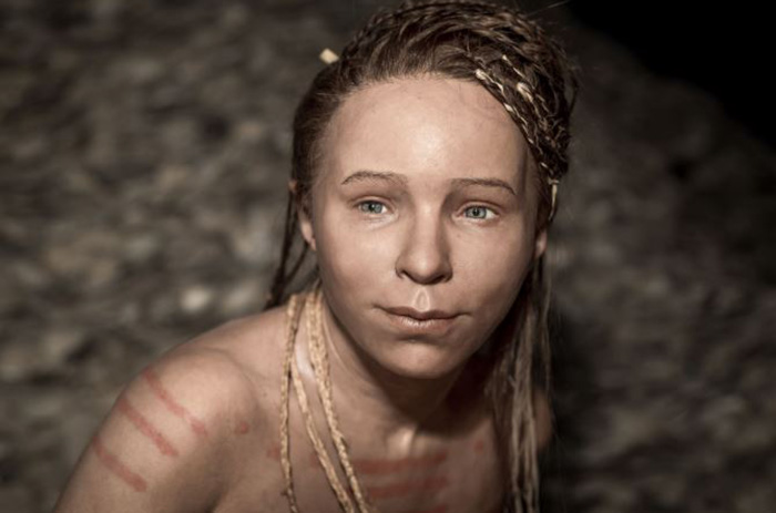 Девушка из Тибринда. /Фото с сайта О.Д. Нильссона