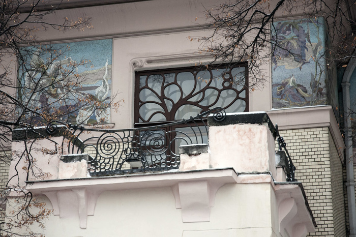 Богатая фантазия архитектора Шехтеля воплотилась в каждой детали дома. /Фото:shagau.ru