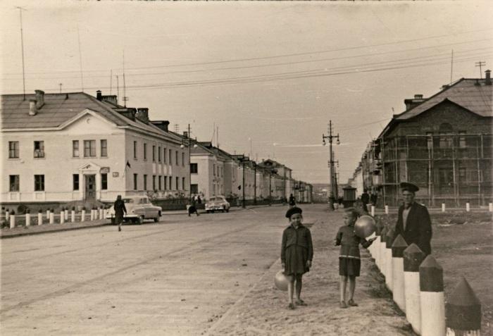 Воркута в 1950 году. /Фото: pastvu.com
