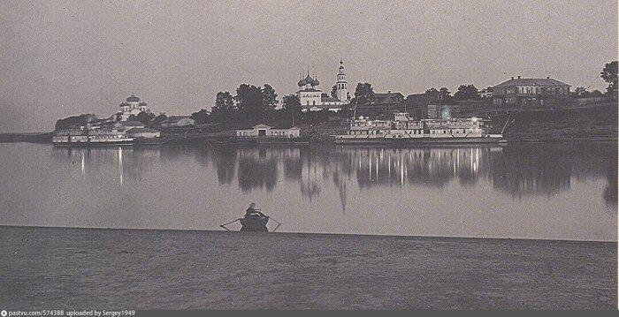 Белая ночь в Мологе.Фото:pastvu.com