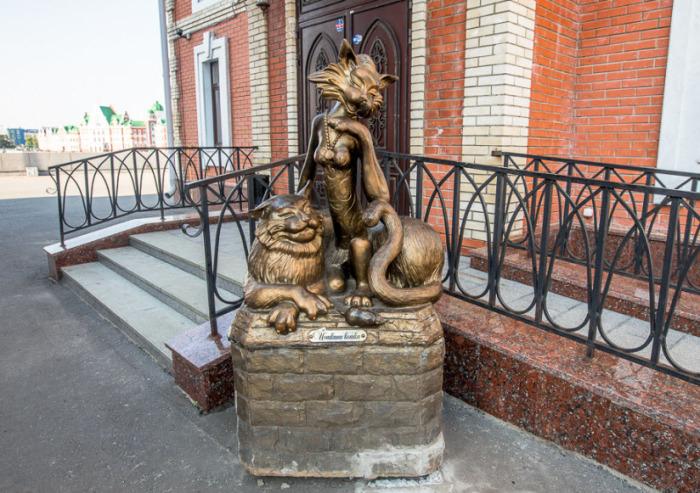 Йошкин Кот и его дама сердца./Фото:tur-ray.ru