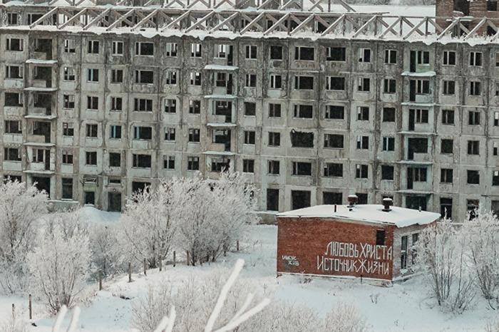 Воркута может опустеть уже к 2040 году. /Фото: Иван Маслов, znak.com
