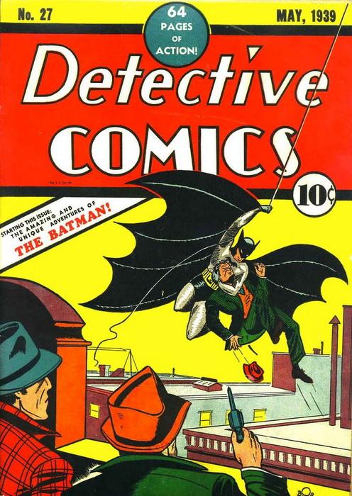 Первый выпуск комиксов о Бэтмене, где фигурирует вымышленный город Готэм-Сити