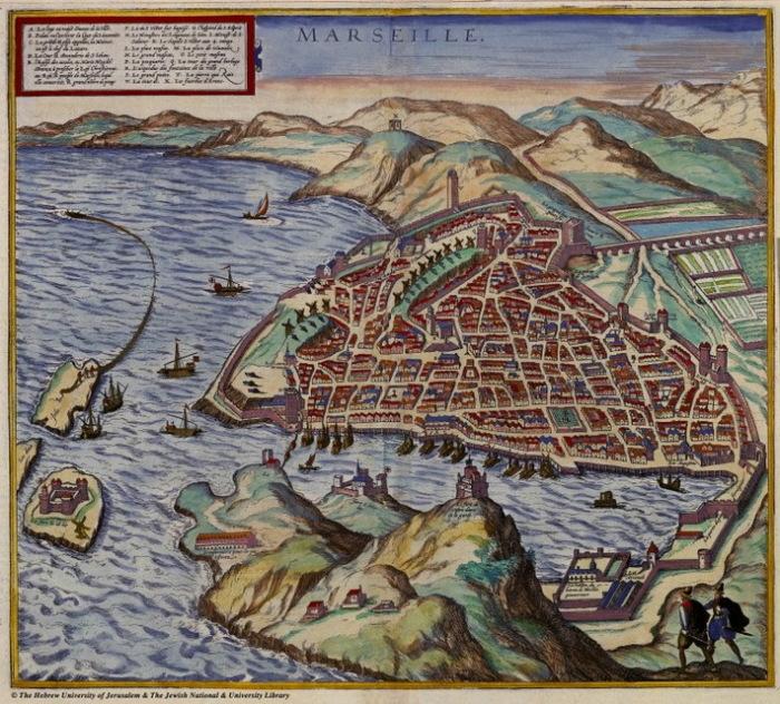 Марсель в 16 веке