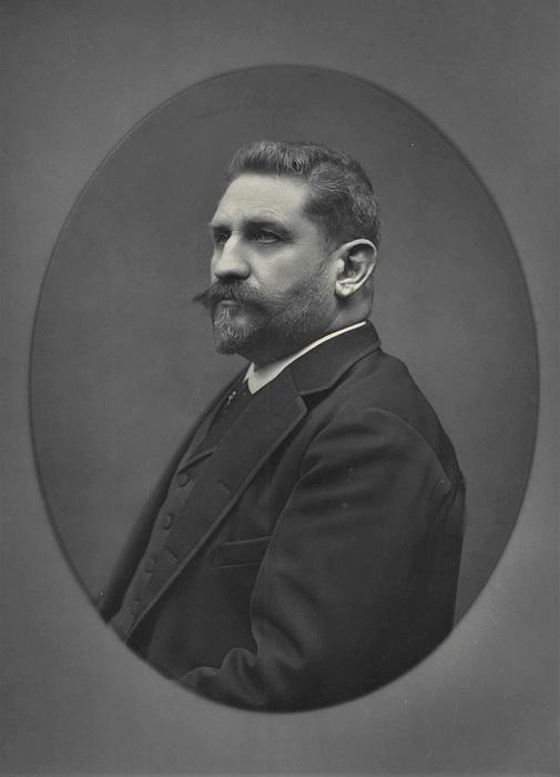 Дагерротипный портрет Ж. Буланже