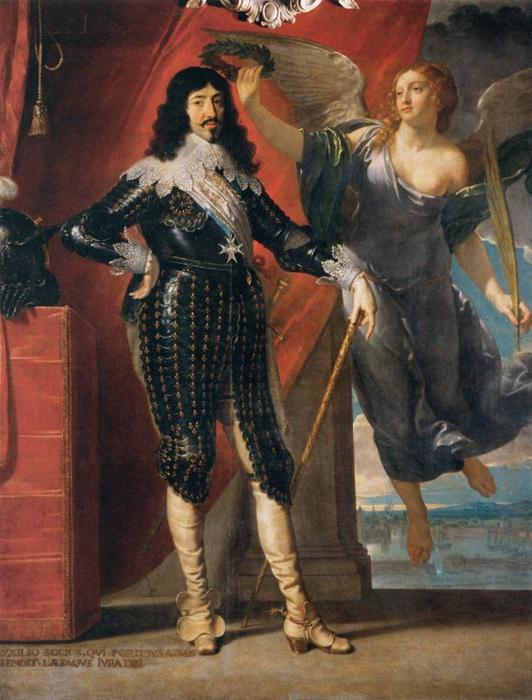 """Ф. де Шампень. """"Король Людовик XIII"""""""