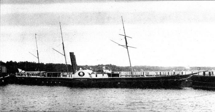 Длина «Александрии» составляла 54,9 м