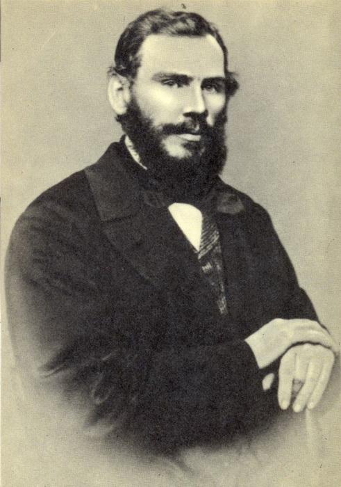 Л.Н. Толстой в 1862 году