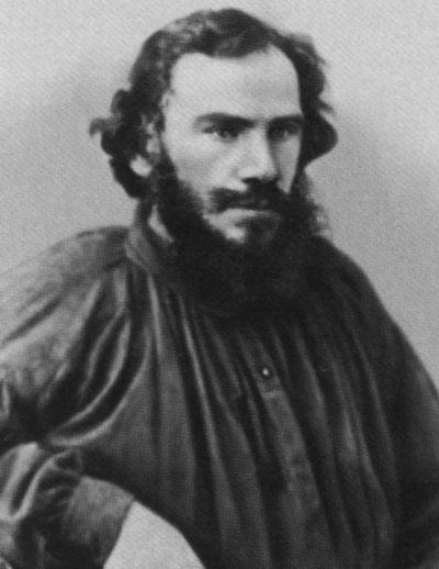 Л.Н. Толстой в 1868 году