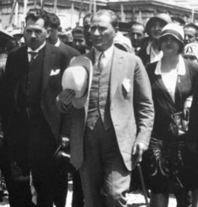 Мустафа Кемаль. Фото 1925 года