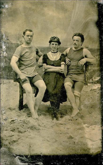 Купальные костюмы начала XX века