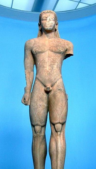 Древнегреческий курос
