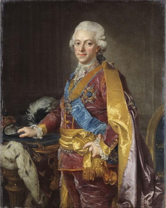 Король Швеции Густав III, писатель, драматург и любитель музыки