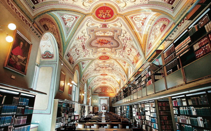 Тайны библиотеки Ватикана.