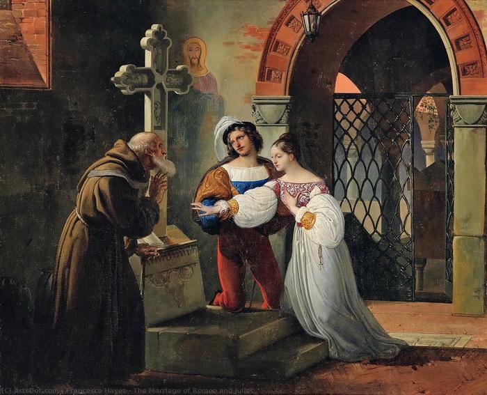 Сюжет зародился в Италии - не то как фольклор, не то увековечив реальную историю трагической любви