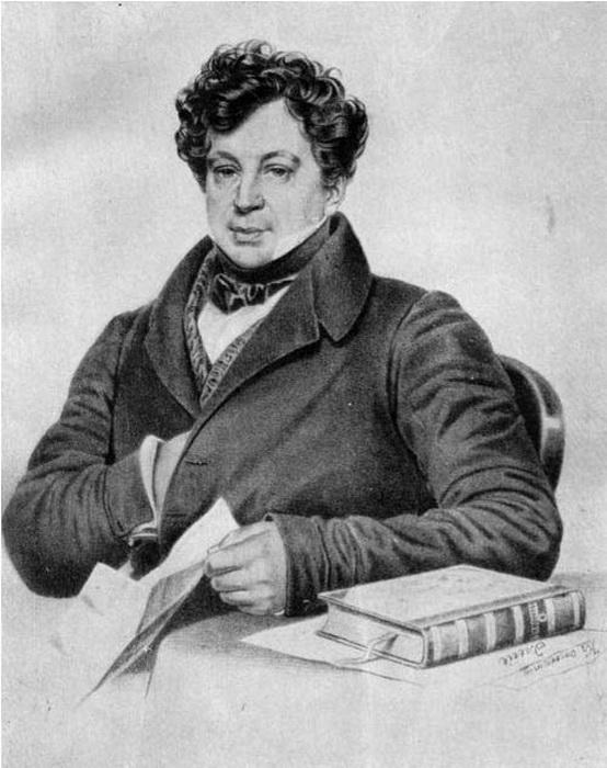 Александр Иванович Тургенев, государственный деятель, друг Хлюстиной