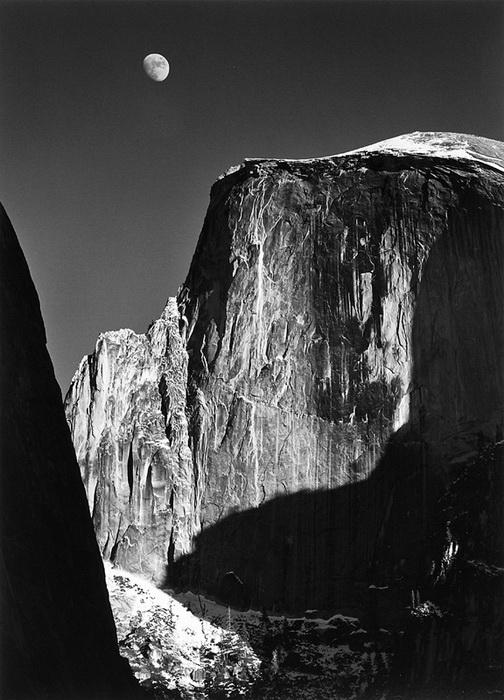Вдохновением для фотографа служили виды национального парка Йосемити