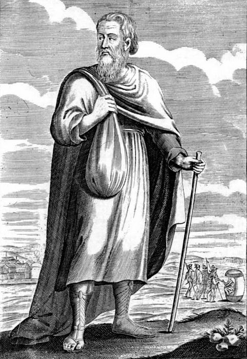 Диоген. Изображение XVII в.