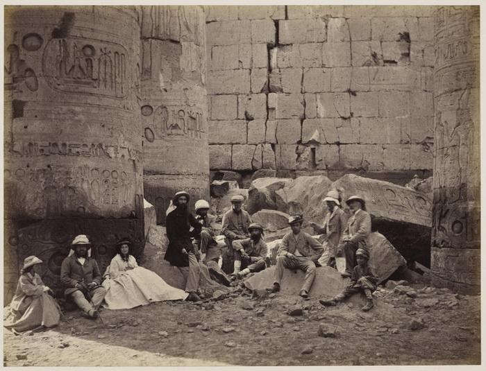В середине XIX века Египет был модным направлением для путешествий и источником бесчисленных сувениров и сокровищ