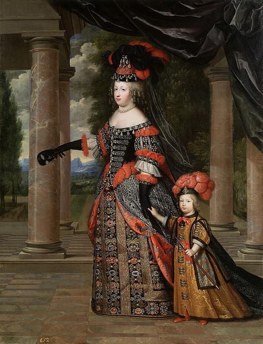 Мария-Терезия с сыном