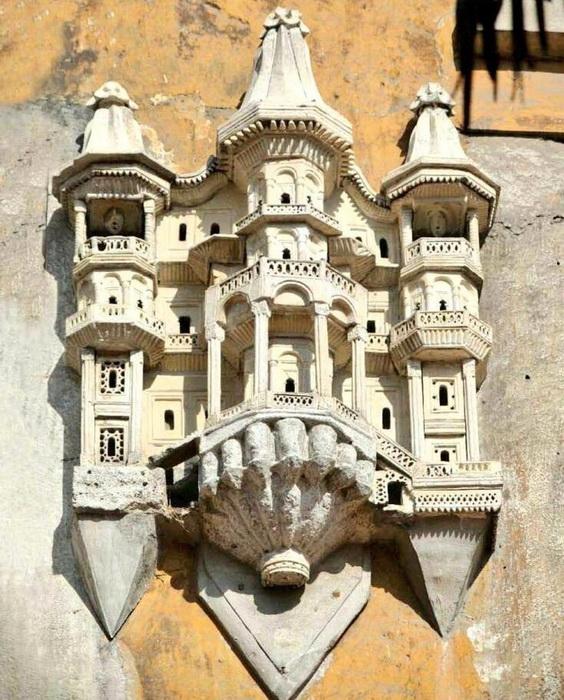 Дворцы для птиц - настоящие произведения исламской архитектуры