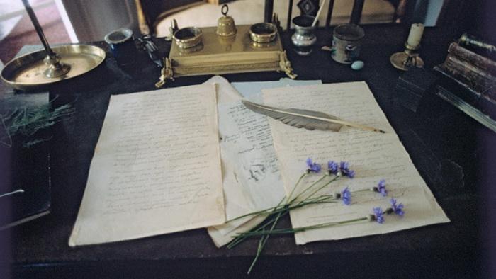 Историю этого любовного многоугольника сохранили письма современников  и отчасти - самих участников