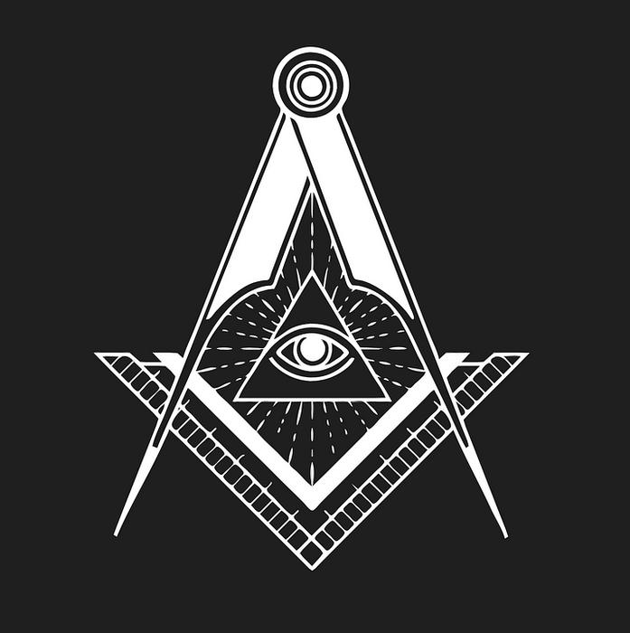 Пирамида - один из элементов символики масонства