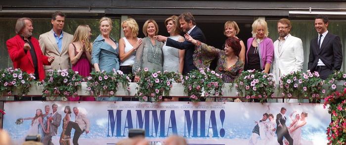 Выход фильма-мюзикла «Mamma mia!» стал хорошим поводом встретиться вновь. Источник: wikipedia.org