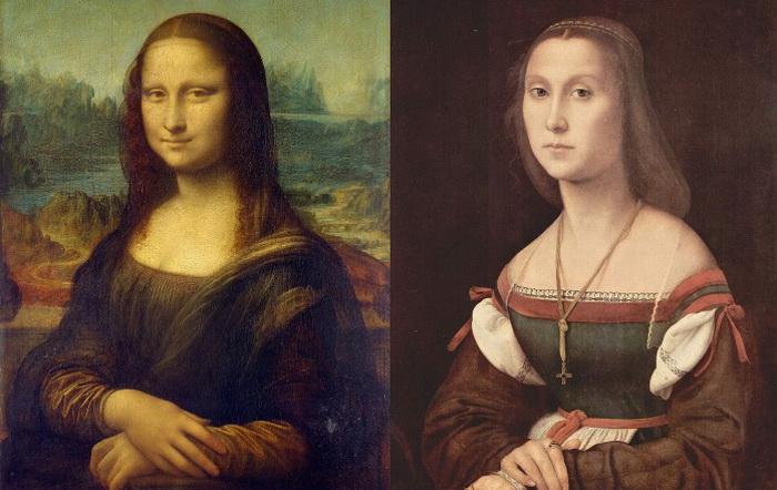 «Мона Лиза» Леонардо и «Немая» Рафаэля