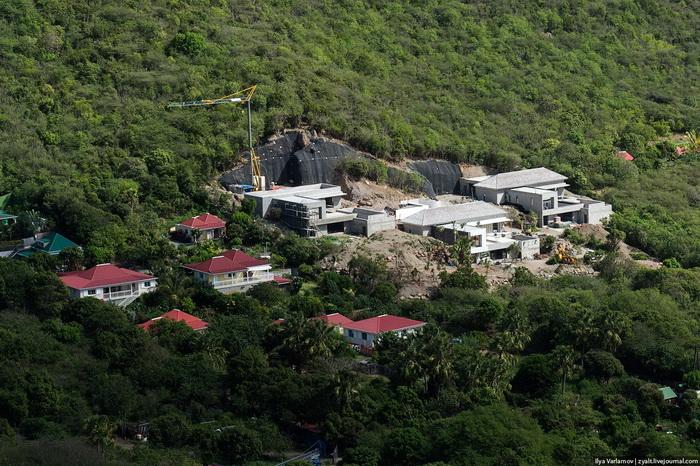 Строительство новой виллы на острове - редкость