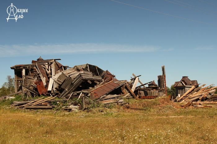Архитектурные памятники прошлого постепенно превращаются в руины