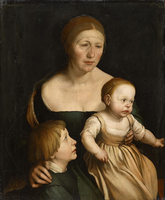 Г. Гольбейн-мл. Семья художника
